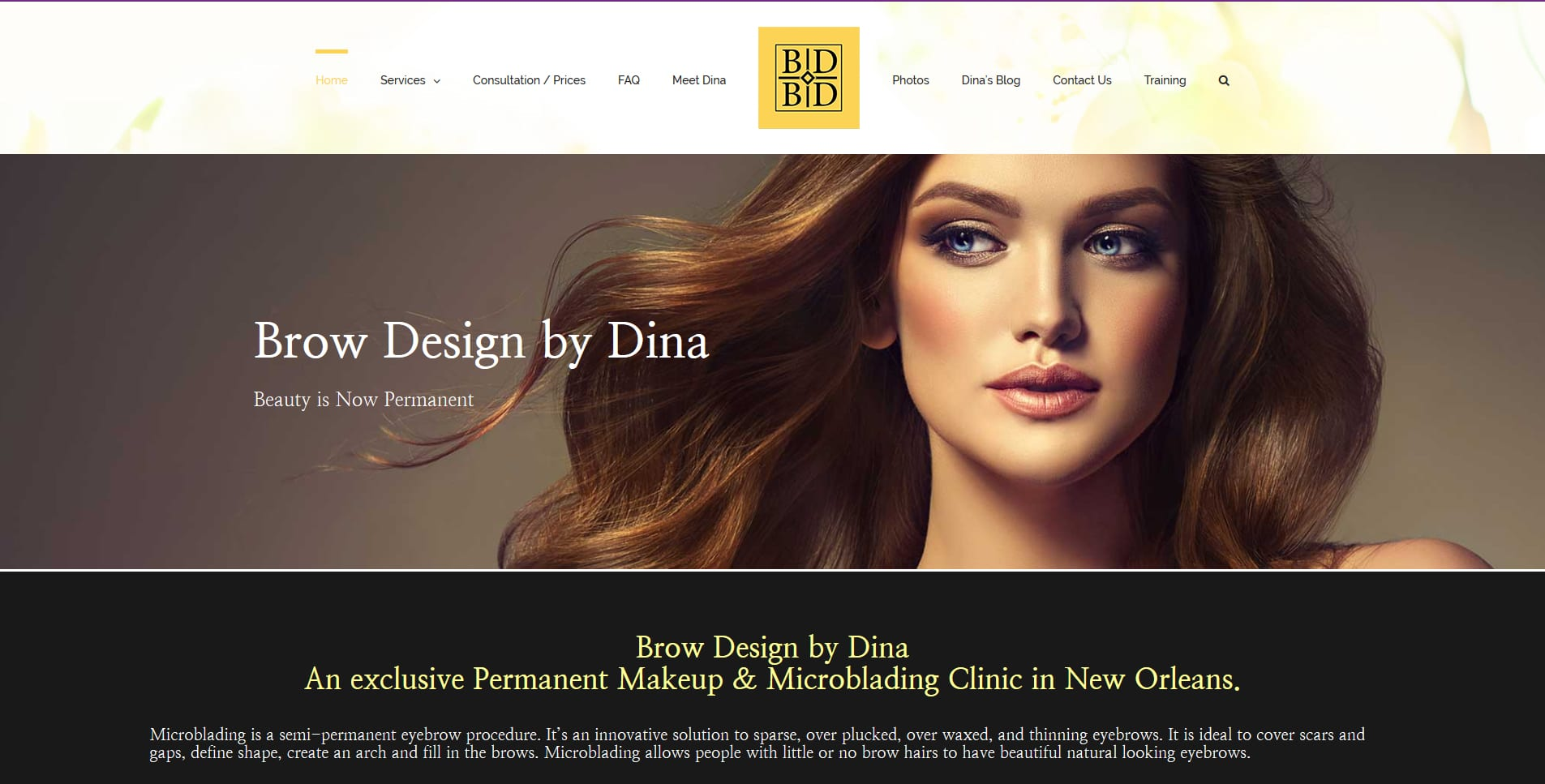 Brow Design By Dina