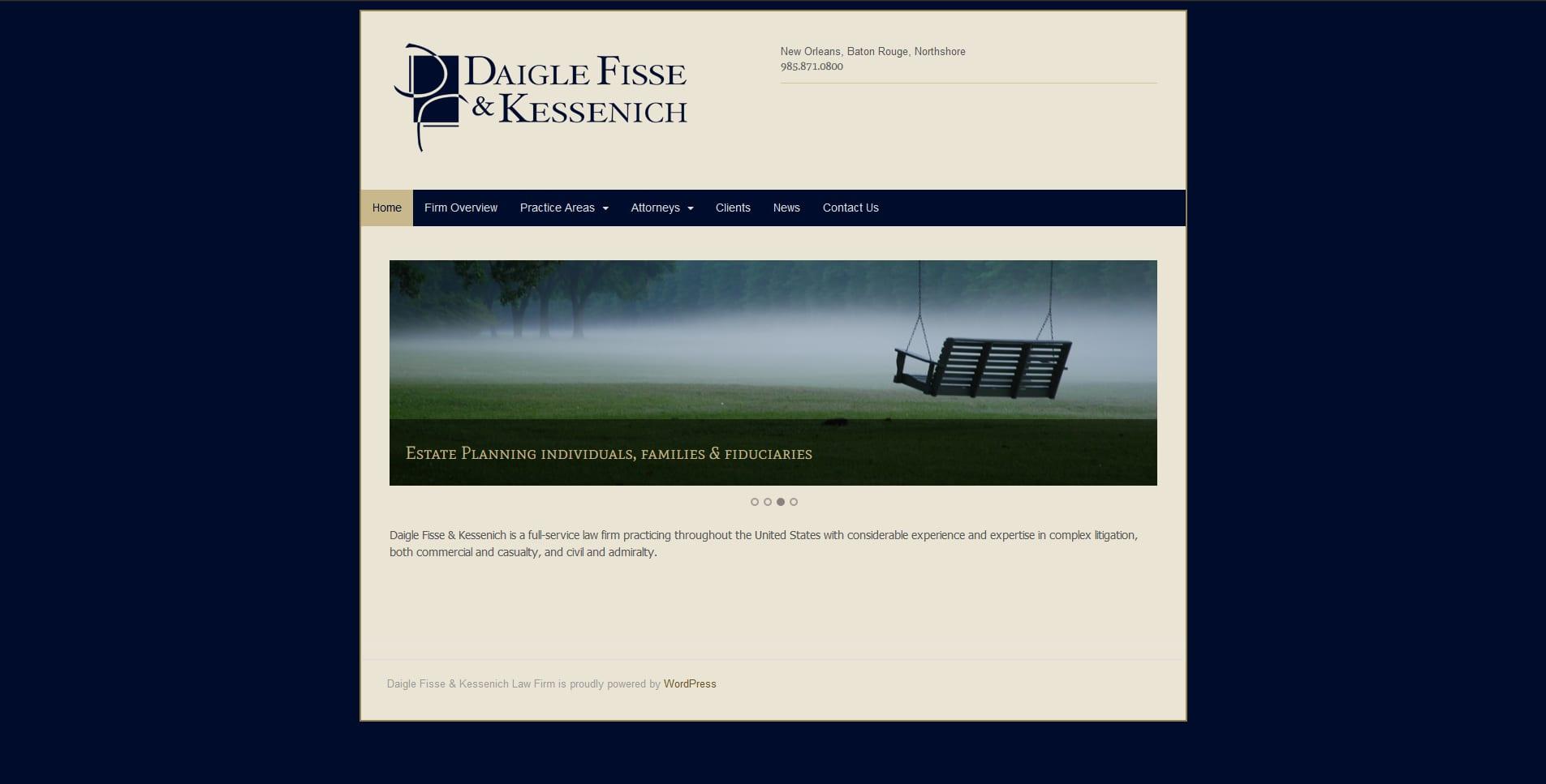 Daigle Fisse & Kessenich Law Firm