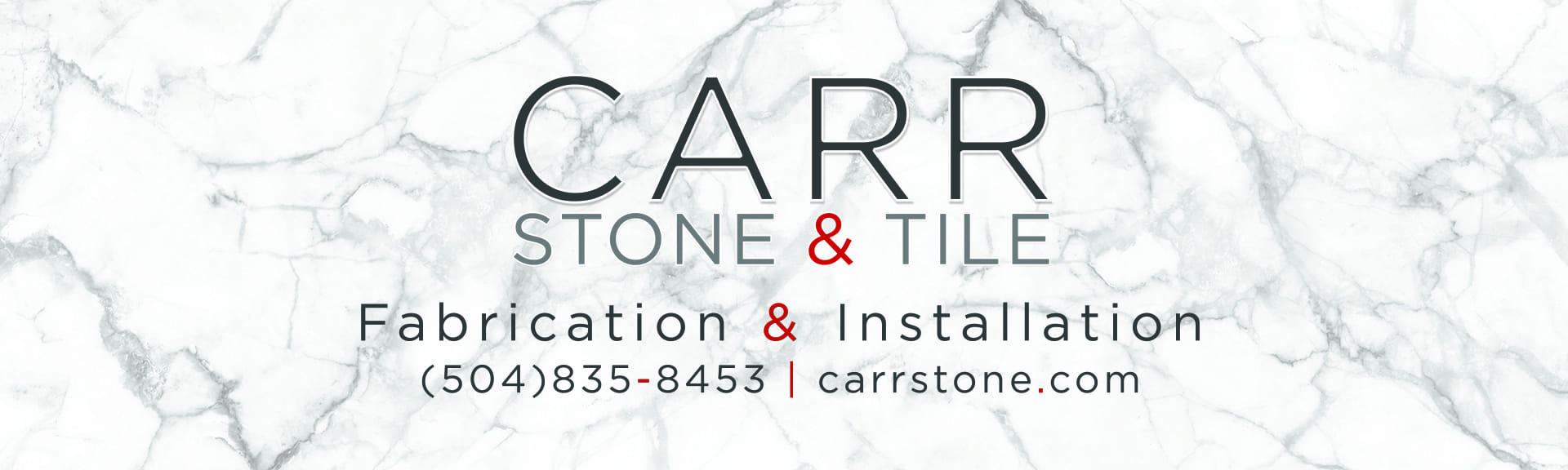 Carr stone & Tile Billboard