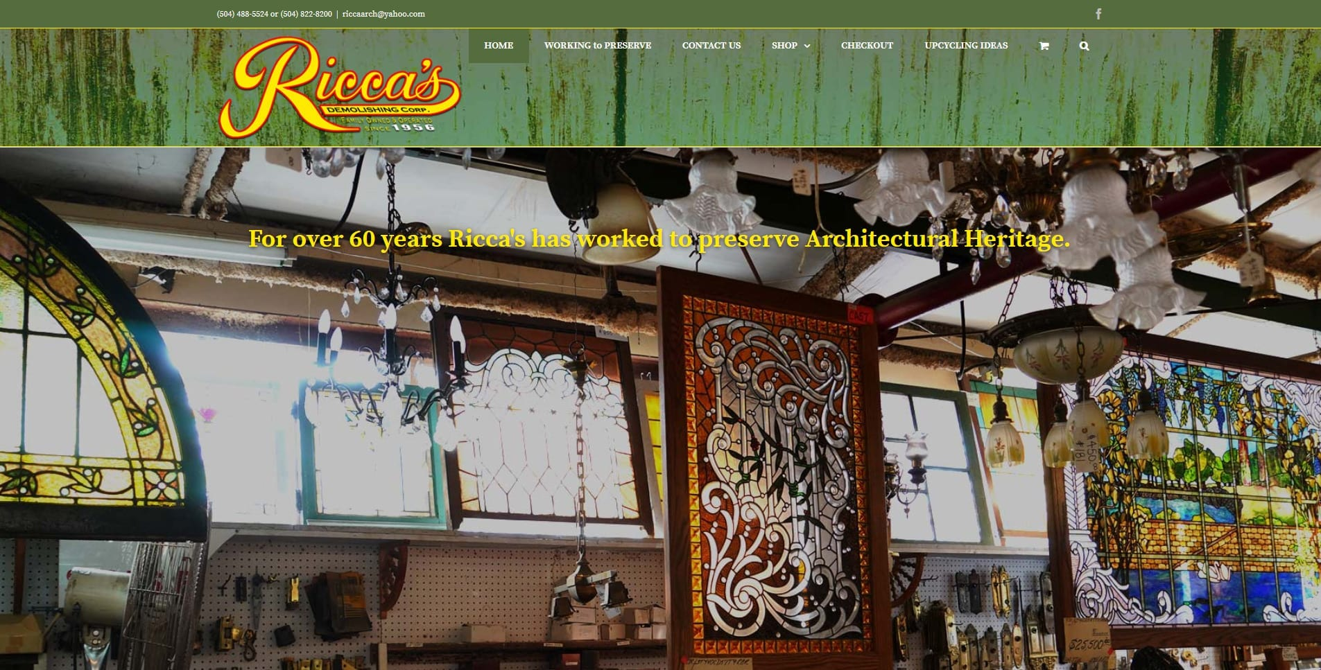 Ricca's Architectural Store