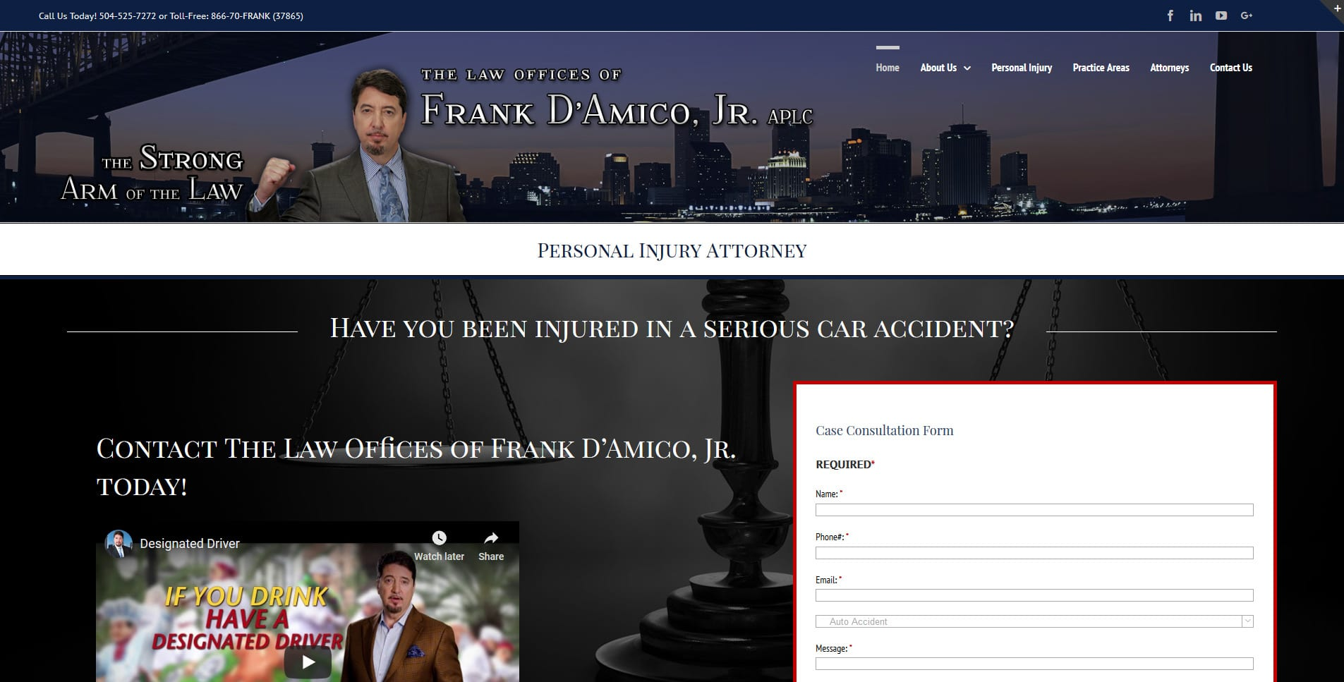 Law offices of Frank d'Amico, jr