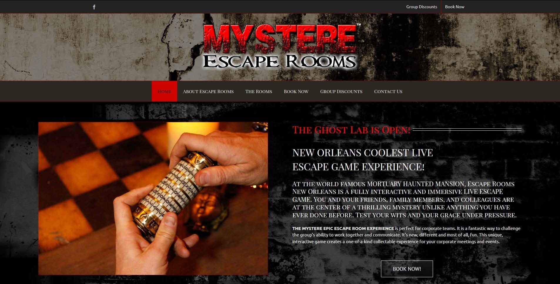 Escape Rooms New Orleans