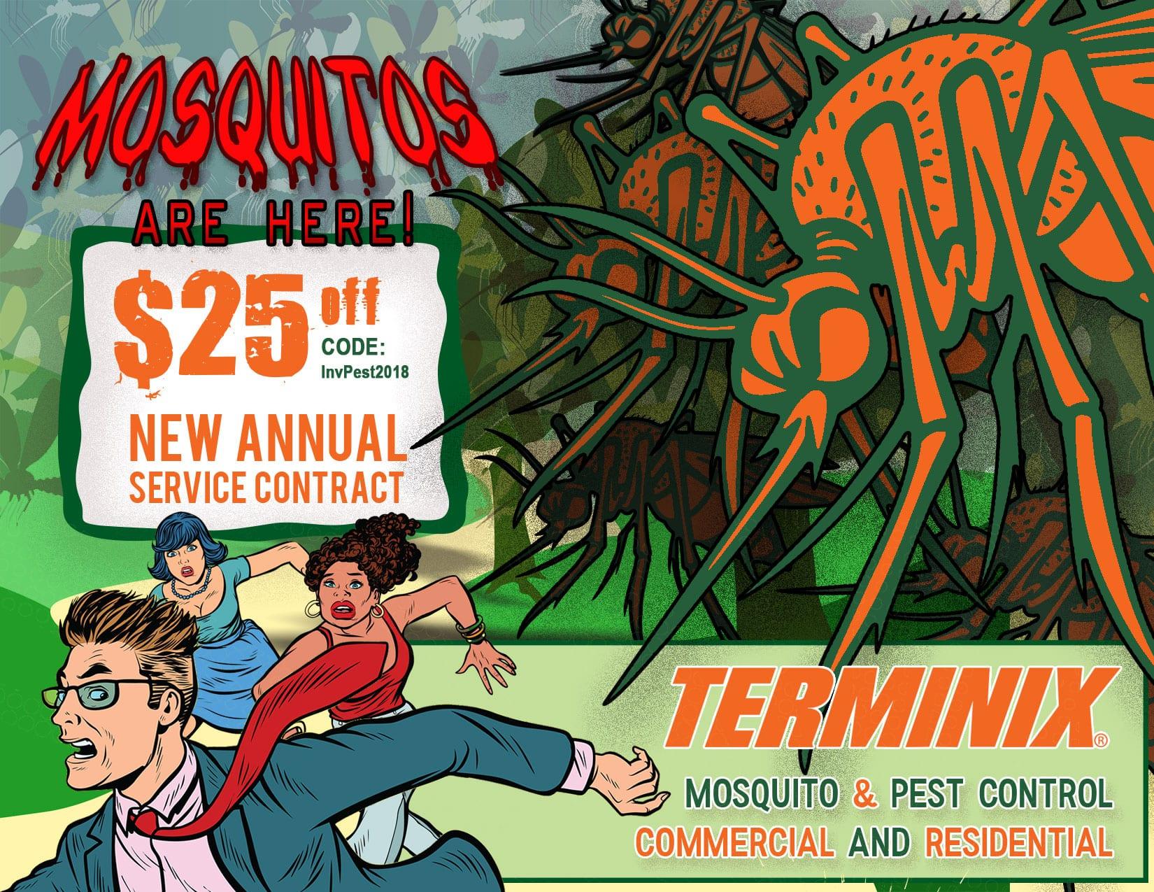 mosquito Invoice