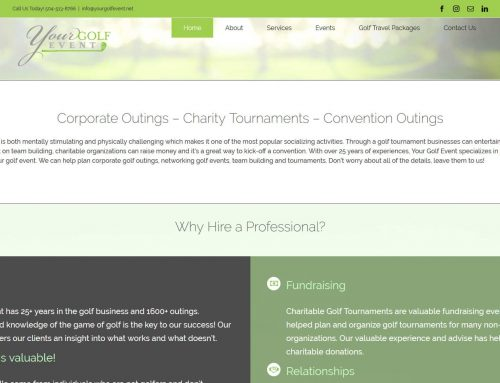 Your Golf Event